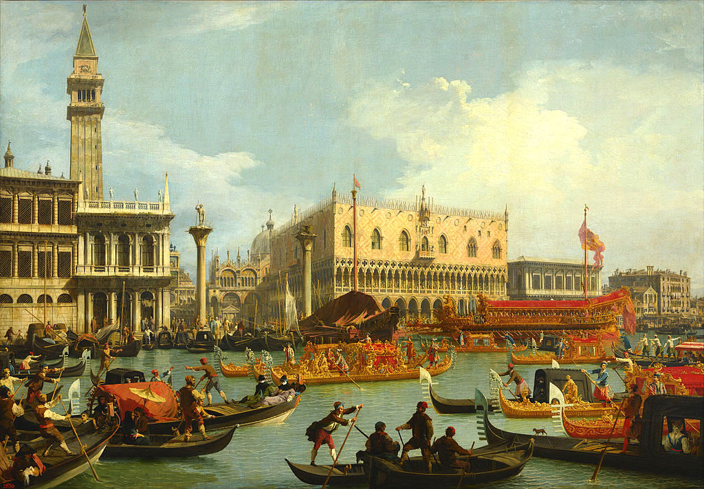 Canaletto - The Bucintoro Returning to the Molo