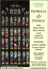 Howells & Muhly Concert Poster